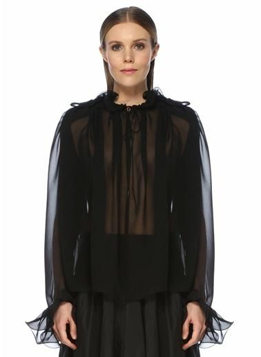 Magda Butrym Bluz Siyah